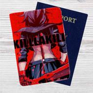 Kill la Kill Anime Custom Leather Passport Wallet Case Cover