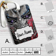 Transformers The Last Knight Custom Leather Luggage Tag
