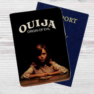 Ouija Origin of Evil Custom Leather Passport Wallet Case Cover