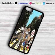 Disney Abbey Road iPhone 4/4S 5 S/C/SE 6/6S Plus 7| Samsung Galaxy S4 S5 S6 S7 NOTE 3 4 5| LG G2 G3 G4| MOTOROLA MOTO X X2 NEXUS 6| SONY Z3 Z4 MINI| HTC ONE X M7 M8 M9 M8 MINI CASE