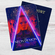 The Neon Demon Custom Leather Passport Wallet Case Cover