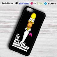 Homer Simpson Godfather iPhone 4/4S 5 S/C/SE 6/6S Plus 7| Samsung Galaxy S4 S5 S6 S7 NOTE 3 4 5| LG G2 G3 G4| MOTOROLA MOTO X X2 NEXUS 6| SONY Z3 Z4 MINI| HTC ONE X M7 M8 M9 M8 MINI CASE
