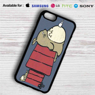 My Neighbor Totoro as Snoopy The Peanuts iPhone 4/4S 5 S/C/SE 6/6S Plus 7| Samsung Galaxy S4 S5 S6 S7 NOTE 3 4 5| LG G2 G3 G4| MOTOROLA MOTO X X2 NEXUS 6| SONY Z3 Z4 MINI| HTC ONE X M7 M8 M9 M8 MINI CASE