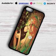 Poison Ivy and Batman iPhone 4/4S 5 S/C/SE 6/6S Plus 7  Samsung Galaxy S4 S5 S6 S7 NOTE 3 4 5  LG G2 G3 G4  MOTOROLA MOTO X X2 NEXUS 6  SONY Z3 Z4 MINI  HTC ONE X M7 M8 M9 M8 MINI CASE