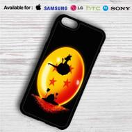 Sunset Dragon Ball Goku iPhone 4/4S 5 S/C/SE 6/6S Plus 7  Samsung Galaxy S4 S5 S6 S7 NOTE 3 4 5  LG G2 G3 G4  MOTOROLA MOTO X X2 NEXUS 6  SONY Z3 Z4 MINI  HTC ONE X M7 M8 M9 M8 MINI CASE