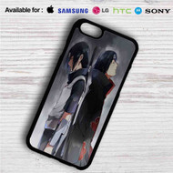 Uchiha Sasuke and Itachi Naruto Shippuden iPhone 4/4S 5 S/C/SE 6/6S Plus 7| Samsung Galaxy S4 S5 S6 S7 NOTE 3 4 5| LG G2 G3 G4| MOTOROLA MOTO X X2 NEXUS 6| SONY Z3 Z4 MINI| HTC ONE X M7 M8 M9 M8 MINI CASE