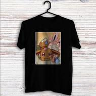 Eevee and Sylveon Pokemon Custom T Shirt Tank Top Men and Woman