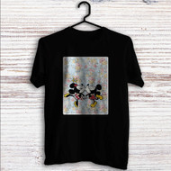 Mickey Mouse and Minnie Mouse Pattern Custom T Shirt Tank Top Men and Woman