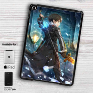 "Kirito Sword Art Online 1 iPad 2 3 4 iPad Mini 1 2 3 4 iPad Air 1 2 | Samsung Galaxy Tab 10.1"" Tab 2 7"" Tab 3 7"" Tab 3 8"" Tab 4 7"" Case"
