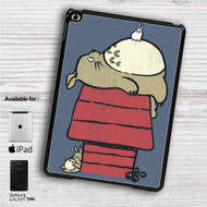 "My Neighbor Totoro as Snoopy The Peanuts iPad 2 3 4 iPad Mini 1 2 3 4 iPad Air 1 2 | Samsung Galaxy Tab 10.1"" Tab 2 7"" Tab 3 7"" Tab 3 8"" Tab 4 7"" Case"