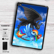 "Rainbow Dash and Toothless iPad 2 3 4 iPad Mini 1 2 3 4 iPad Air 1 2 | Samsung Galaxy Tab 10.1"" Tab 2 7"" Tab 3 7"" Tab 3 8"" Tab 4 7"" Case"