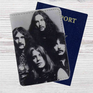 Black Sabbath Custom Leather Passport Wallet Case Cover