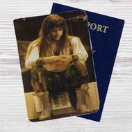 Bruce Dickinson Iron Maiden Custom Leather Passport Wallet Case Cover