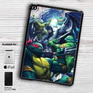 "Teenage Mutant Ninja Turtles With Batman Movie iPad 2 3 4 iPad Mini 1 2 3 4 iPad Air 1 2 | Samsung Galaxy Tab 10.1"" Tab 2 7"" Tab 3 7"" Tab 3 8"" Tab 4 7"" Case"