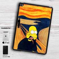 "The Simpsons Scream iPad 2 3 4 iPad Mini 1 2 3 4 iPad Air 1 2 | Samsung Galaxy Tab 10.1"" Tab 2 7"" Tab 3 7"" Tab 3 8"" Tab 4 7"" Case"