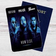 Steve Aoki Feat Rich The Kid & ILoveMakonne Custom Leather Passport Wallet Case Cover