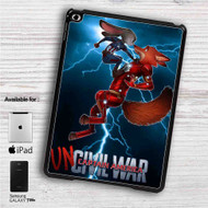 "Zootopia Civil War iPad 2 3 4 iPad Mini 1 2 3 4 iPad Air 1 2 | Samsung Galaxy Tab 10.1"" Tab 2 7"" Tab 3 7"" Tab 3 8"" Tab 4 7"" Case"