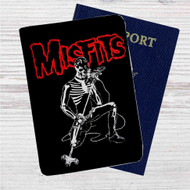 The Misfits Custom Leather Passport Wallet Case Cover