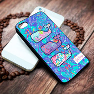 Lilly Pulitzer Vineyard Vines whale on your case iphone 4 4s 5 5s 5c 6 6plus 7 case / cases