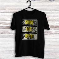 Borderlands 2 Shoot Loot Repeat Custom T Shirt Tank Top Men and Woman