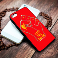 liverpool keep the faith on your case iphone 4 4s 5 5s 5c 6 6plus 7 case / cases