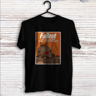 Fallout New Vegas 1 Custom T Shirt Tank Top Men and Woman