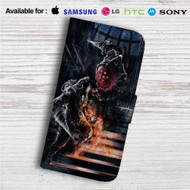 Bioshock Big Daddy Fight Custom Leather Wallet iPhone 4/4S 5S/C 6/6S Plus 7| Samsung Galaxy S4 S5 S6 S7 Note 3 4 5| LG G2 G3 G4| Motorola Moto X X2 Nexus 6| Sony Z3 Z4 Mini| HTC ONE X M7 M8 M9 Case
