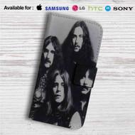 Black Sabbath Custom Leather Wallet iPhone 4/4S 5S/C 6/6S Plus 7| Samsung Galaxy S4 S5 S6 S7 Note 3 4 5| LG G2 G3 G4| Motorola Moto X X2 Nexus 6| Sony Z3 Z4 Mini| HTC ONE X M7 M8 M9 Case