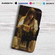 Bruce Dickinson Iron Maiden Custom Leather Wallet iPhone 4/4S 5S/C 6/6S Plus 7  Samsung Galaxy S4 S5 S6 S7 Note 3 4 5  LG G2 G3 G4  Motorola Moto X X2 Nexus 6  Sony Z3 Z4 Mini  HTC ONE X M7 M8 M9 Case