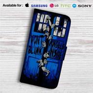 Doctor Who The Walking Dead Crossover Custom Leather Wallet iPhone 4/4S 5S/C 6/6S Plus 7| Samsung Galaxy S4 S5 S6 S7 Note 3 4 5| LG G2 G3 G4| Motorola Moto X X2 Nexus 6| Sony Z3 Z4 Mini| HTC ONE X M7 M8 M9 Case