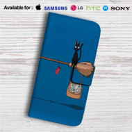 Kiki's Delivery Service Not in Service Custom Leather Wallet iPhone 4/4S 5S/C 6/6S Plus 7| Samsung Galaxy S4 S5 S6 S7 Note 3 4 5| LG G2 G3 G4| Motorola Moto X X2 Nexus 6| Sony Z3 Z4 Mini| HTC ONE X M7 M8 M9 Case