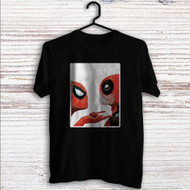Spiderman Deadpool Custom T Shirt Tank Top Men and Woman