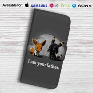 Pokemon Star Wars Custom Leather Wallet iPhone 4/4S 5S/C 6/6S Plus 7| Samsung Galaxy S4 S5 S6 S7 Note 3 4 5| LG G2 G3 G4| Motorola Moto X X2 Nexus 6| Sony Z3 Z4 Mini| HTC ONE X M7 M8 M9 Case