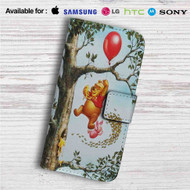 Pooh and Piglet Custom Leather Wallet iPhone 4/4S 5S/C 6/6S Plus 7| Samsung Galaxy S4 S5 S6 S7 Note 3 4 5| LG G2 G3 G4| Motorola Moto X X2 Nexus 6| Sony Z3 Z4 Mini| HTC ONE X M7 M8 M9 Case
