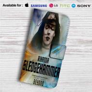 Rihanna Sledgehammer Star Trek Custom Leather Wallet iPhone 4/4S 5S/C 6/6S Plus 7| Samsung Galaxy S4 S5 S6 S7 Note 3 4 5| LG G2 G3 G4| Motorola Moto X X2 Nexus 6| Sony Z3 Z4 Mini| HTC ONE X M7 M8 M9 Case