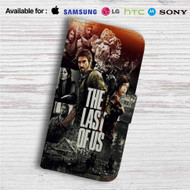 The Last of Us Custom Leather Wallet iPhone 4/4S 5S/C 6/6S Plus 7| Samsung Galaxy S4 S5 S6 S7 Note 3 4 5| LG G2 G3 G4| Motorola Moto X X2 Nexus 6| Sony Z3 Z4 Mini| HTC ONE X M7 M8 M9 Case