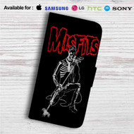 The Misfits Custom Leather Wallet iPhone 4/4S 5S/C 6/6S Plus 7| Samsung Galaxy S4 S5 S6 S7 Note 3 4 5| LG G2 G3 G4| Motorola Moto X X2 Nexus 6| Sony Z3 Z4 Mini| HTC ONE X M7 M8 M9 Case