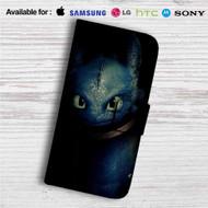 Toothless Dragon Custom Leather Wallet iPhone 4/4S 5S/C 6/6S Plus 7| Samsung Galaxy S4 S5 S6 S7 Note 3 4 5| LG G2 G3 G4| Motorola Moto X X2 Nexus 6| Sony Z3 Z4 Mini| HTC ONE X M7 M8 M9 Case