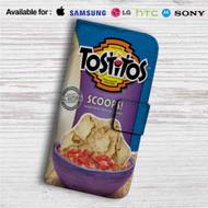 Tostitos Scoops Custom Leather Wallet iPhone 4/4S 5S/C 6/6S Plus 7| Samsung Galaxy S4 S5 S6 S7 Note 3 4 5| LG G2 G3 G4| Motorola Moto X X2 Nexus 6| Sony Z3 Z4 Mini| HTC ONE X M7 M8 M9 Case