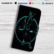 Tron Deadpool Custom Leather Wallet iPhone 4/4S 5S/C 6/6S Plus 7| Samsung Galaxy S4 S5 S6 S7 Note 3 4 5| LG G2 G3 G4| Motorola Moto X X2 Nexus 6| Sony Z3 Z4 Mini| HTC ONE X M7 M8 M9 Case