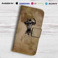 Vitruvian Spiderman Custom Leather Wallet iPhone 4/4S 5S/C 6/6S Plus 7| Samsung Galaxy S4 S5 S6 S7 Note 3 4 5| LG G2 G3 G4| Motorola Moto X X2 Nexus 6| Sony Z3 Z4 Mini| HTC ONE X M7 M8 M9 Case