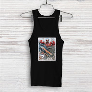 Attack on Godzilla Custom Men Woman Tank Top T Shirt Shirt