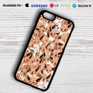 Pokemon Eevee iPhone 4/4S 5 S/C/SE 6/6S Plus 7| Samsung Galaxy S4 S5 S6 S7 NOTE 3 4 5| LG G2 G3 G4| MOTOROLA MOTO X X2 NEXUS 6| SONY Z3 Z4 MINI| HTC ONE X M7 M8 M9 M8 MINI CASE