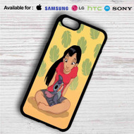 Teenage Lilo with Stitch iPhone 4/4S 5 S/C/SE 6/6S Plus 7| Samsung Galaxy S4 S5 S6 S7 NOTE 3 4 5| LG G2 G3 G4| MOTOROLA MOTO X X2 NEXUS 6| SONY Z3 Z4 MINI| HTC ONE X M7 M8 M9 M8 MINI CASE