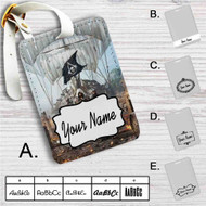Assassin's Creed IV Black Flag Custom Leather Luggage Tag