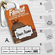 Fallout New Vegas 1 Custom Leather Luggage Tag