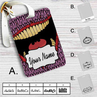 Joker Hahaha Custom Leather Luggage Tag