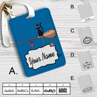 Kiki's Delivery Service Not in Service Custom Leather Luggage Tag