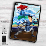 "Ariel and Eric as Avatar The Last Airbender iPad 2 3 4 iPad Mini 1 2 3 4 iPad Air 1 2 | Samsung Galaxy Tab 10.1"" Tab 2 7"" Tab 3 7"" Tab 3 8"" Tab 4 7"" Case"