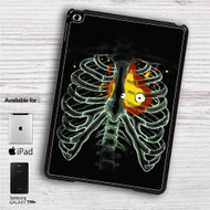"Heart On Fire Howl Moving Castle iPad 2 3 4 iPad Mini 1 2 3 4 iPad Air 1 2 | Samsung Galaxy Tab 10.1"" Tab 2 7"" Tab 3 7"" Tab 3 8"" Tab 4 7"" Case"